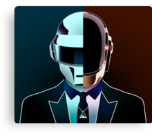 Daft Portrait (Together) Canvas Print