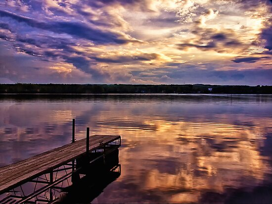 Edinboro Lake by Kathy Weaver