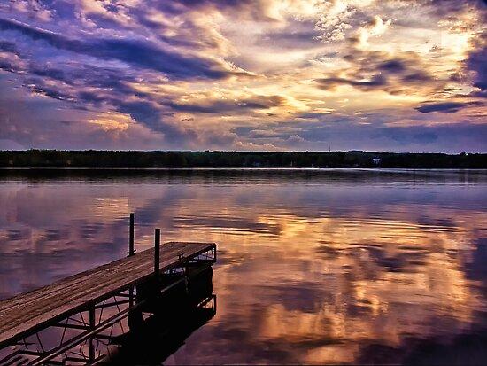 Edinboro Lake by Kathy Weaver