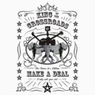 Supernatural - King of the Crossroads - Make a Deal (black/white, bright) by glassCurtain