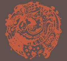 A whole new world - Orange by onethirdpotato
