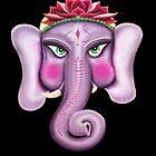 Ganesha - Lord of Good Fortunes by HiddenCityArt