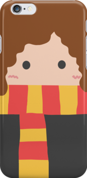 Hermione Granger Iphone Case by Mhaddie