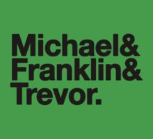GTA V 5 Shirt Michael Franklin Trevor by easycherry