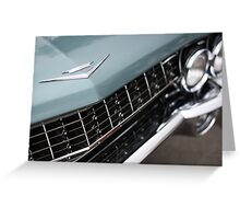 1961 Cadillac Series 62 Greeting Card