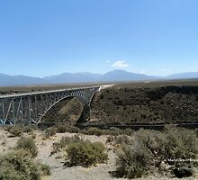 Bridge over Rio Grande Gorge by MaryEllen O'Brien