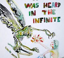 BUT STILL A CRY WAS HEARD IN THE INFINITE by lautir