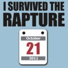 I Survived The Rapture (October 2011) by jezkemp