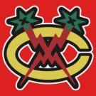 CM PunkHawks Logo by David Bankston