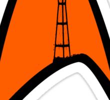 San Francisco Sutro Trek Sticker