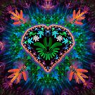 Flower Heart by Pam Amos