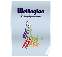 Wellington. It's Largely Awesome Poster