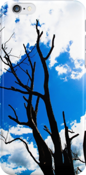 Casting Shadows - iPhone Cover by KerryPurnell