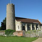 All Saints, Frostenden by KatDoodling