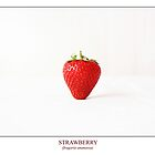 Strawberry (fragaria ananassa) Labeled by Alan Harman