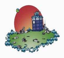 Cybermen vs The Tardis by Skree