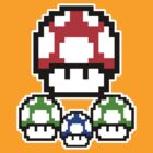 Super, 1-Up & Mini by Danny Mills