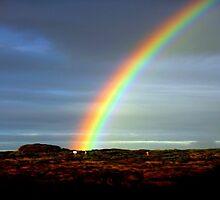 Rainbow ~ DownUnder by Chris Chalk