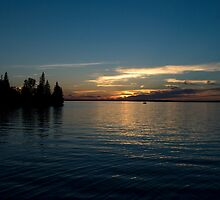 Sundown at Wasagaming by Crystal Zacharias