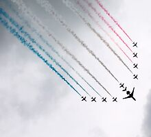 The Red Arrows by Hannah Taylor