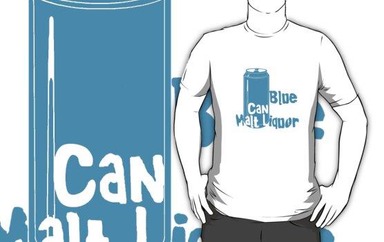Blue Can Malt Liquor by sflassen