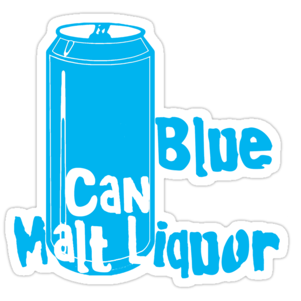 Blue Can Malt Liquor by sflassen
