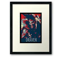 "Draven ""Change"" Framed Print"