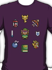 Link with his hoard T-Shirt