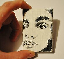Miniature Portrait  by Katie  McNeice