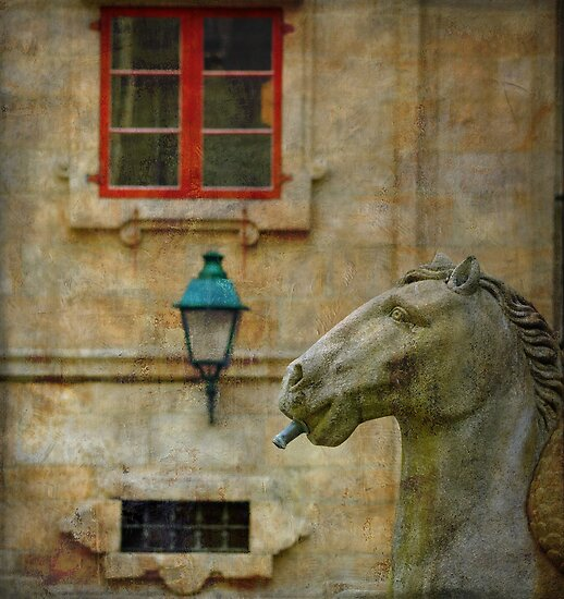 Horses made of stone by rentedochan