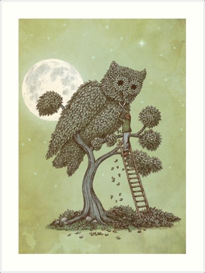 The Night Gardener by Eric Fan