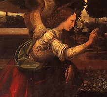 Archangel Gabriel Annunciation by Janine Whitling