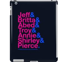 Community Character Jetset (Color Variant) iPad Case/Skin