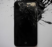 iPhone Destruction by Joe Faulding