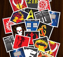 Nerd's Stamp Collection: Requested by KShep21 by mcgani