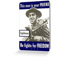 Englishman -- This Man Is Your Friend Greeting Card