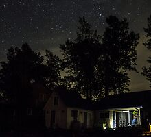 Nobody Home on a Starry Night by Mikell Herrick