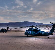 Desert Blackhawks by Kaos  Photography