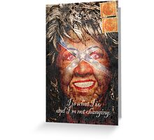 Paula Deen's two cents in Greeting Card