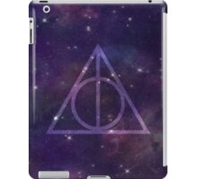 Deathly Hallows in Space iPad Case/Skin