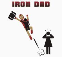Iron Dad flying by Kokonuzz