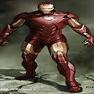 IRON MAN by lykos1988