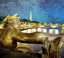 Paris by night by Janine Whitling