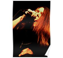 Ronnie Winter - Red Jumpsuit Apparatus Poster