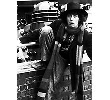 Tom Baker Photographic Print