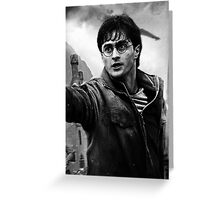 Harry Potter Greeting Card