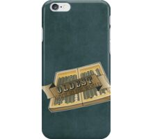 Oldest Game in the Wold - Locke iPhone Case/Skin