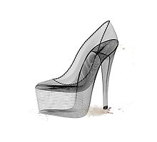 Wire Heel  by Kteis