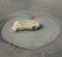 Heart On The Beach by Alexandra Lavizzari