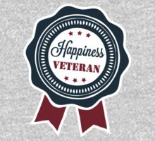 Happiness veteran badge by ikado